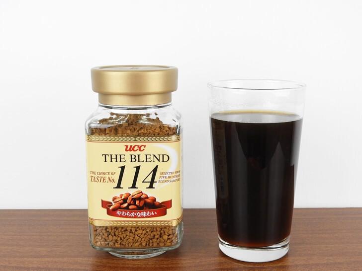準備享用 UCC 114 即溶咖啡