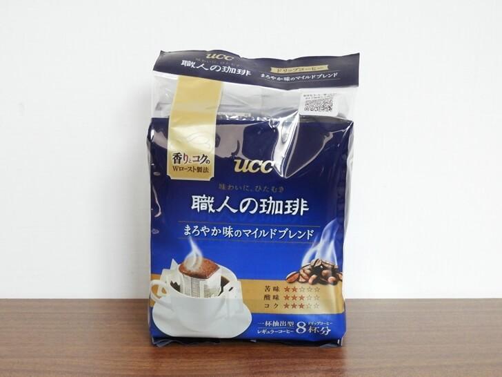 UCC 職人柔和便利沖咖啡包裝