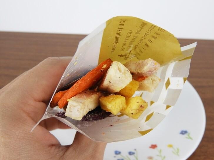 打開原味千尋田園蔬菜脆片淘氣包