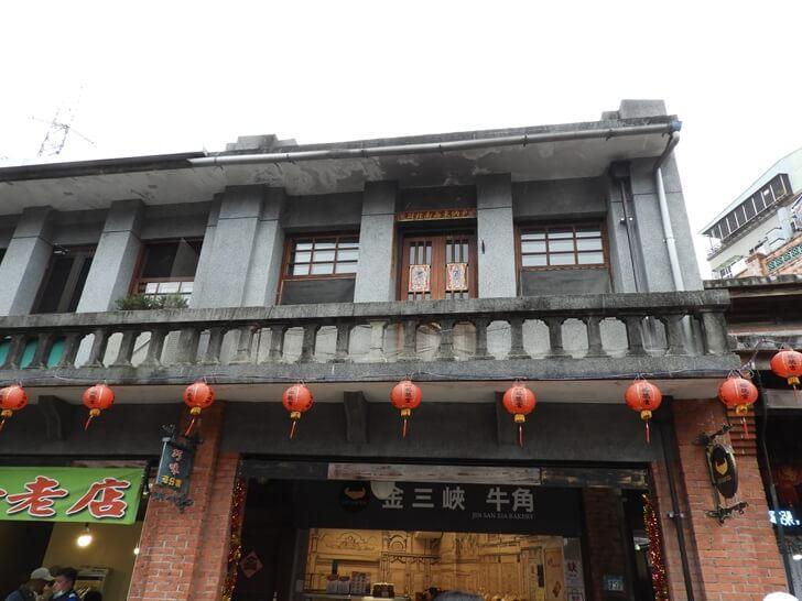具有古典特色的兩層樓房