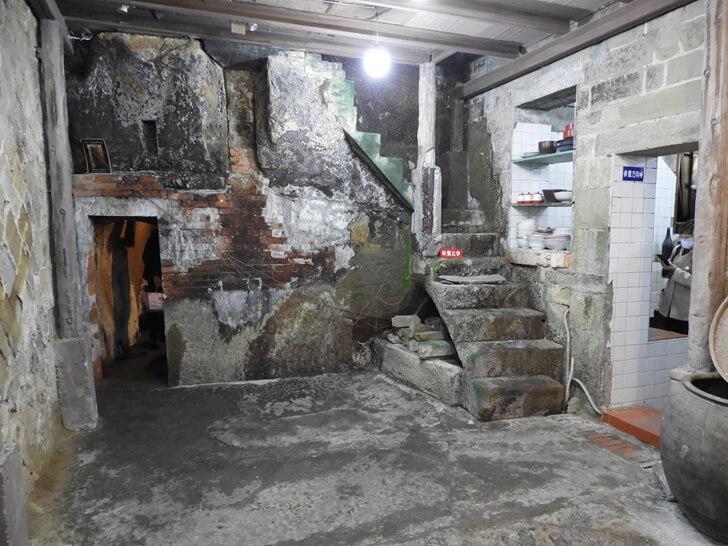 百年石頭屋內景像