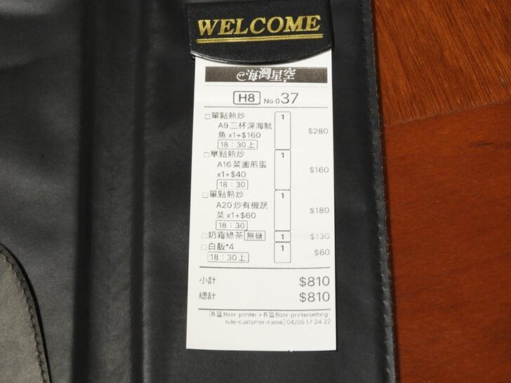 本次消費帳單