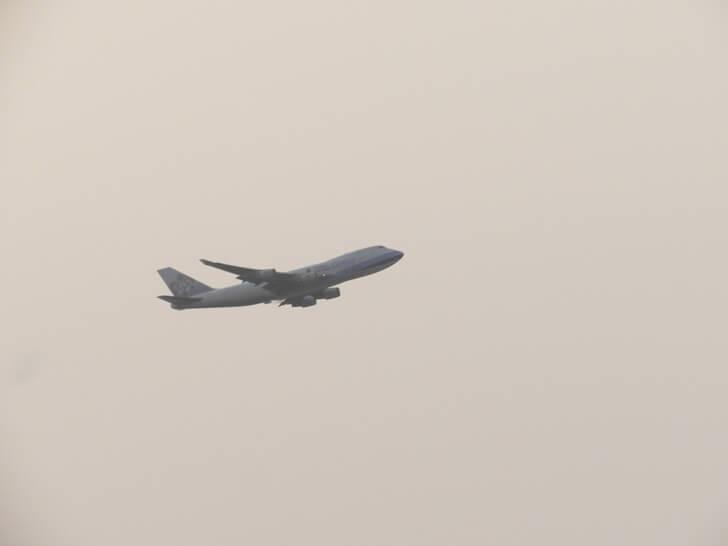 這架是華航客機
