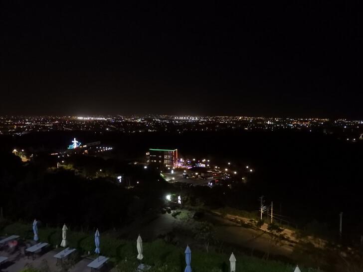 海灣星空超美的桃園夜景