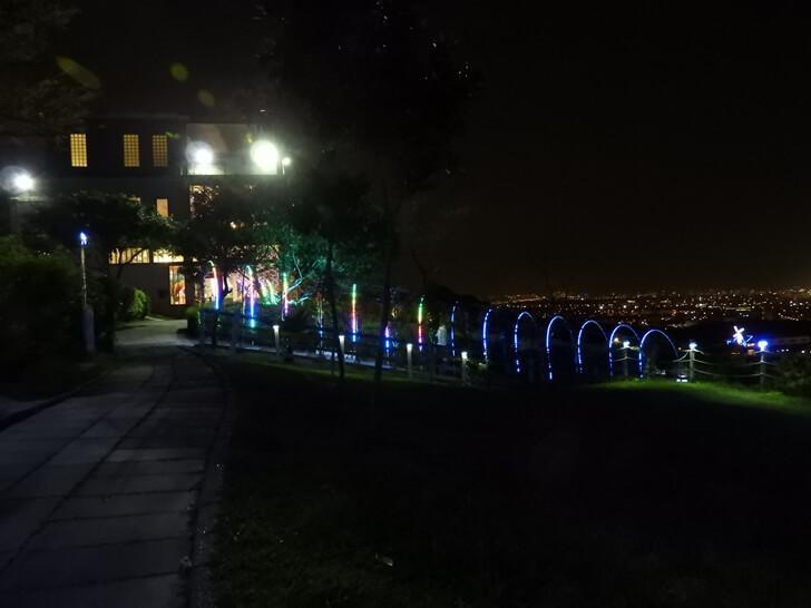 海灣星空景觀餐廳夜景