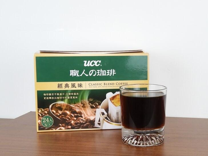 準備品嚐 UCC 職人系列經典風味濾掛式咖啡