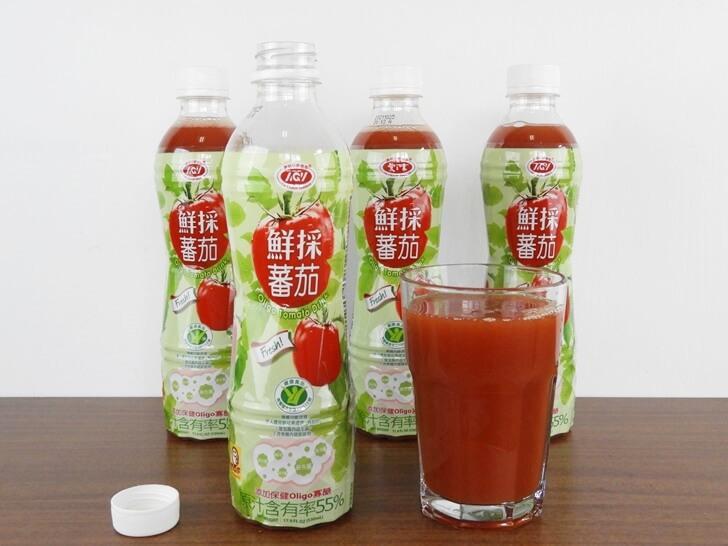 只要打開瓶蓋就可以享用的愛之味鮮採蕃茄汁