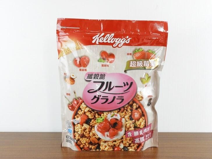 家樂氏纖穀脆超級莓果 Super Berry Granola
